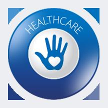 healthcare banner logo
