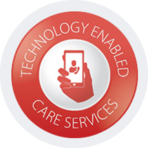 technology enabled care services logo