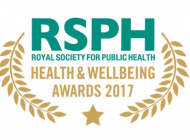 Royal society for public health - health and wellbeing awards 2017