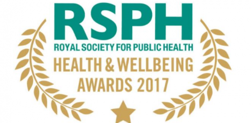 We have been shortlisted for another Royal Society of Public Health award!