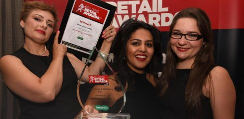 Smokefreelife Berkshire are Reading Retail Award winners