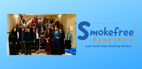 Welcome to the team Smokefree Hampshire!