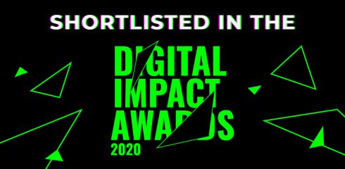 'Best Use of Artificial Intelligence' – shortlisted at the Digital Impact Awards 2020