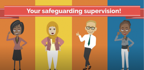 Safeguarding Supervision Animation – Public Health Nursing 4 Slough