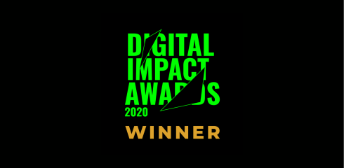 Quit with Bella wins Gold at the Digital Impact Awards